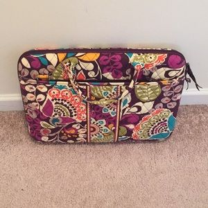 Vera Bradley laptop case with Crossbody strap